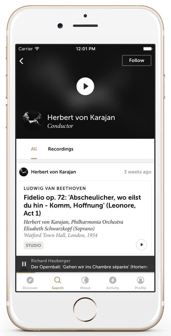 Musik hören mit idagio: Klassische Musik im Stream!
