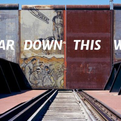 """""""Tear Down This Wall"""" ist ein Projekt der Dresdner Sinfoniker. © Kai Wiedenhöfer"""
