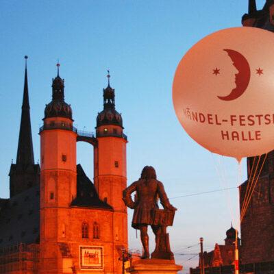 Marktplatz Halle, Händel-Festspiele Halle