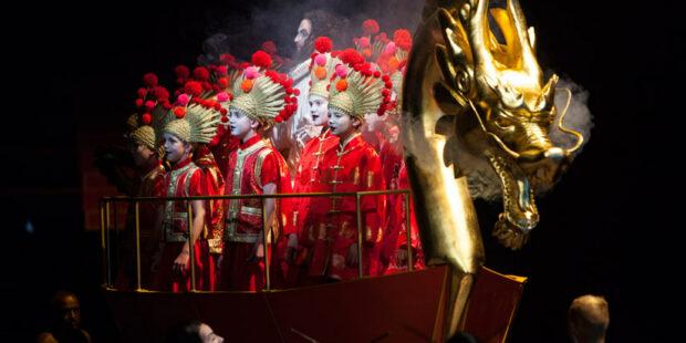 "Szenenbild aus ""Turandot"""