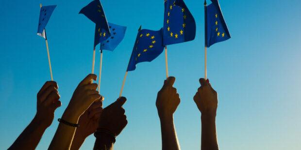Flaggen der Europäische Union