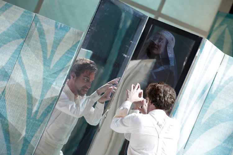"Szenenbild aus ""Le Nozze die Figaro"""