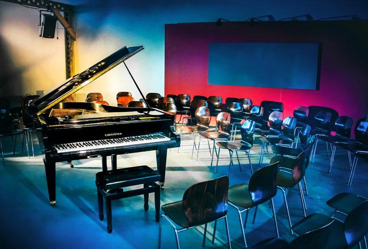 Konzertsaal im Oberhafenquartier/Halle 424