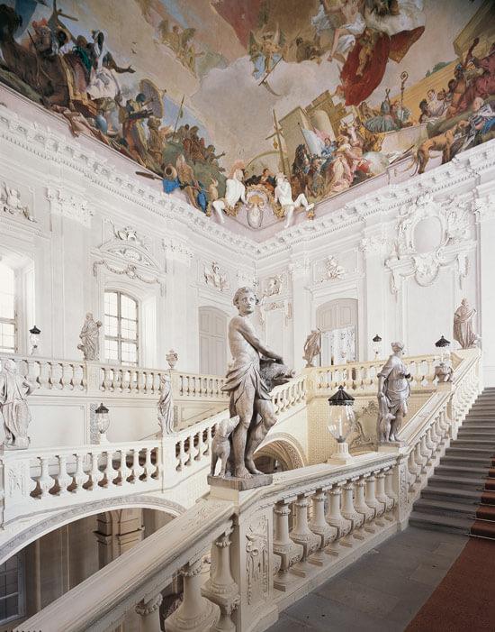 Treppenhaus der Residenz Würzburg