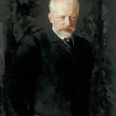 Peter Iljitsch Tschaikowsky, Gemälde von Nikolai Kuznetsov