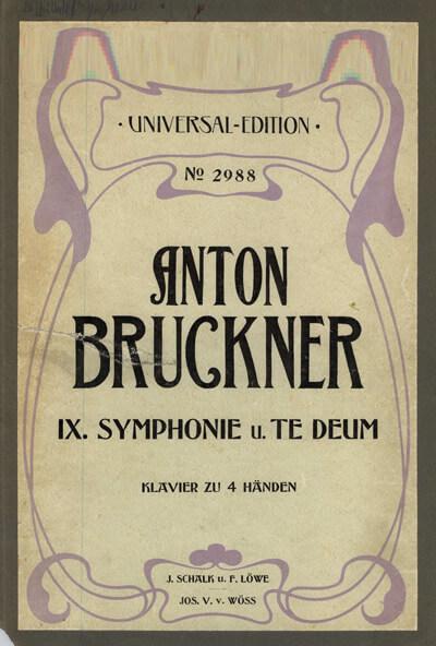 Bruckner Sinfonie Nr. 9 mit Te Deum