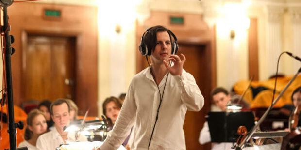 Teodor Currentzis und MusicAeterna im Aufnahmestudio