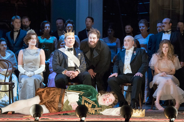 """Szenenbild aus """"Hamlet"""""""