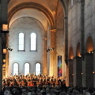 Basilika des Klosters Eberbach