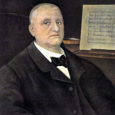 Anton Bruckner, Gemälde von Ferry Bératon