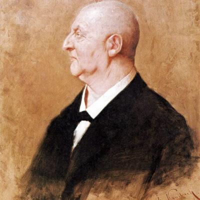 Anton Bruckner, Gemälde von Hermann von Kaulbach, 1895