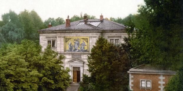 Haus Wahnfried, um 1900