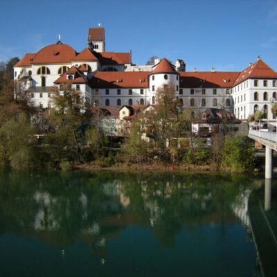 Hohes Schloss und Kloster St. Mang, Füssen