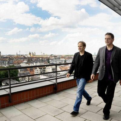 Leiter der Münchener Biennale: Daniel Ott (links) und Manos Tsangaris
