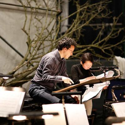 """Orchesterprobe zu """"Neue Szenen"""" an der Deutschen Oper Berlin"""