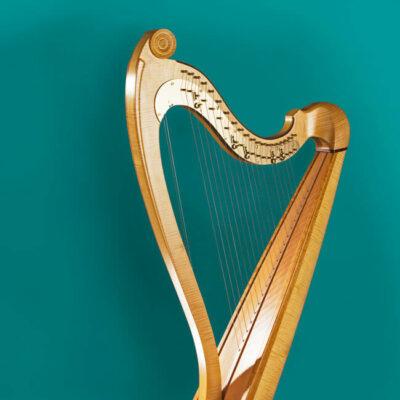 Beckmesser-Harfe der Firma Konzertharfenbau Horngacher