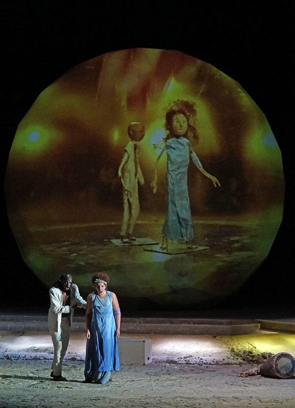 """Szenenbild aus """"Moses in Ägypten"""""""