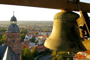 Carillon im Schloss Johannisburg in Aschaffenburg