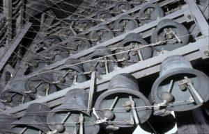 Glocken des Carillons von St. Jan in Gouda