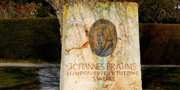 Johannes-Brahms-Denkmal Tutzing