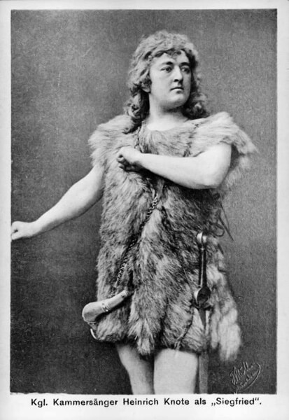Heinrich Knote als Siegfried (um 1915)