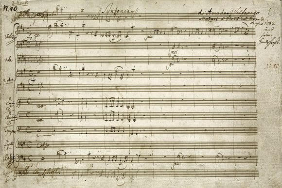 "Wolfgang Amadeus Mozart: Sinfonie Nr 35 ""Haffner"", S. 1"