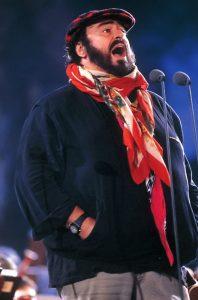 Luciano Pavarotti © Carlos Picasso/Decca