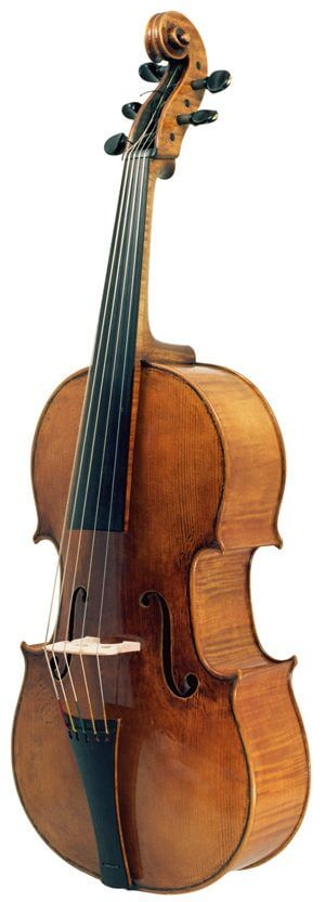 Violoncello da spalla des Geigenbauers Dmitry Badiarov