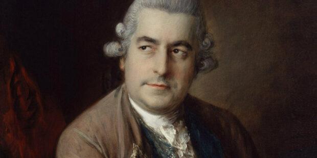 Johann Christian Bach. Gemälde von Thomas Gainsborough
