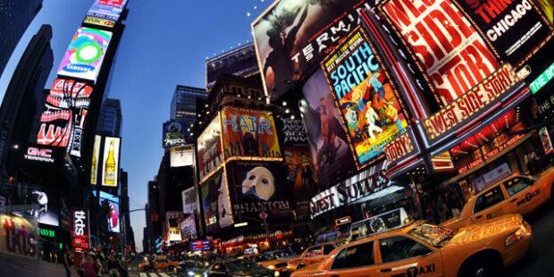 Broadway, Werbung für Musicals