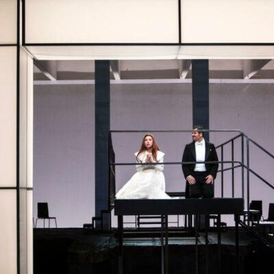 Kristiane Kaiser (Elisabeth) und David Pomeroy (Tannhäuser)