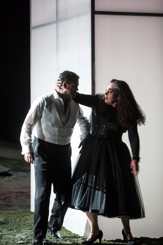 David Pomeroy (Tannhäuser) und Dalia Schaechter (Venus)