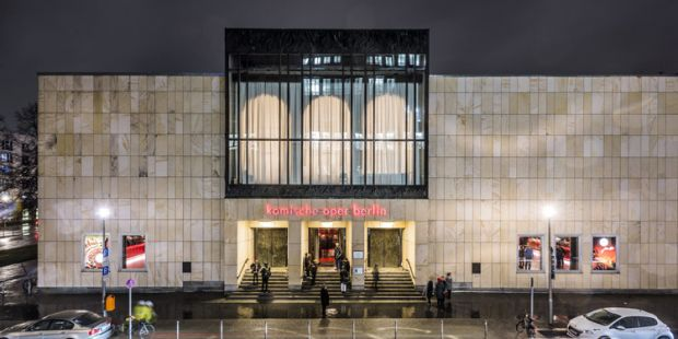 Komische Oper Berlin, Außenansicht