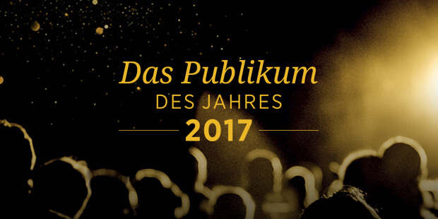 "concerti sucht das ""Publikum des Jahres 2017"""