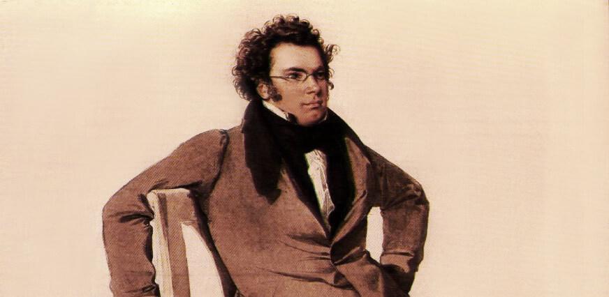 Franz Schubert, Gemälde von Wilhelm August Rieder 1825