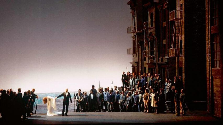 Der Ring des Nibelungen/Bayreuther Festspiele, inszeniert von Patrice Chéreau