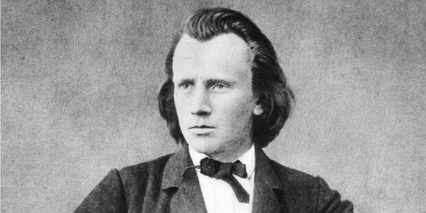 Johannes Brahms, um 1865