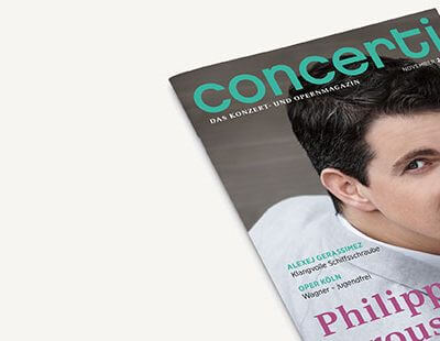 Cover concerti-Ausgabe November 2017