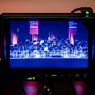 Übertragung des Wettbewerbs per Livestream