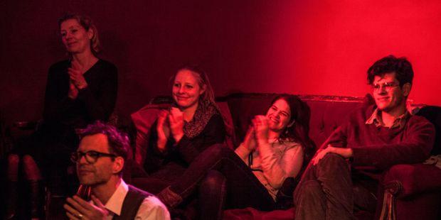 Zuhörer bei einem tonali-Konzert