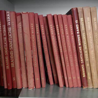Alte Edition der einer Brahms Gesamtausgabe