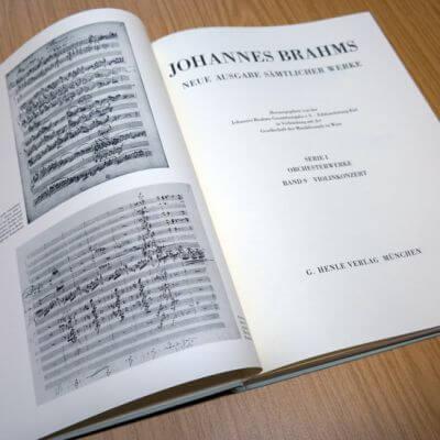 Johannes Brahms Gesamtausgabe