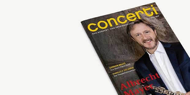 Druckfrisch: die concerti Dezember-Ausgabe!