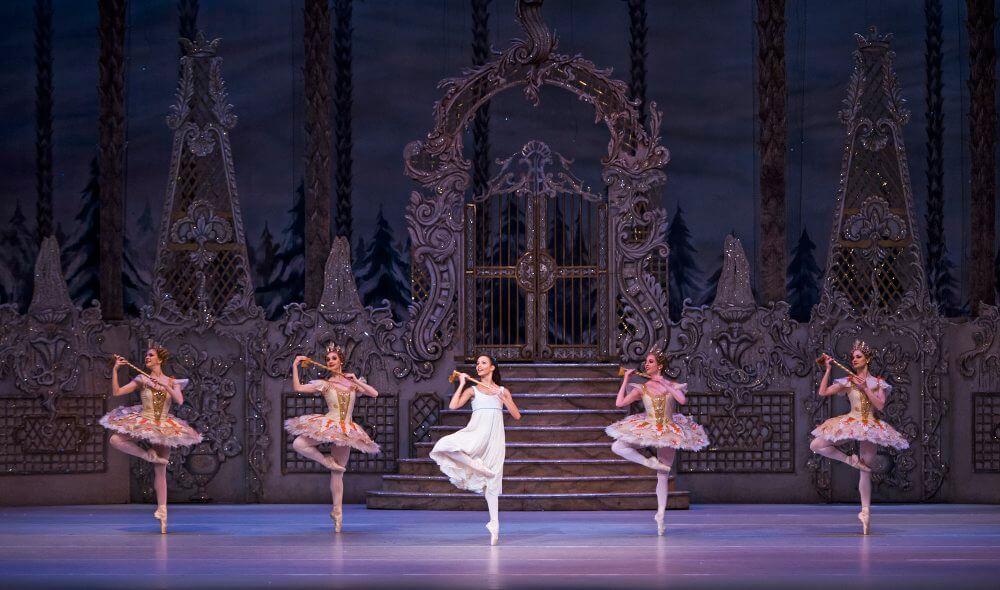 "Szene aus ""The Nutcracker"" mit dem Royal Ballet des ROH"