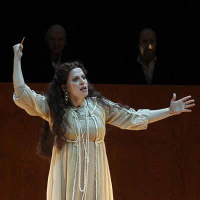 """Szenenbild aus """"Tosca"""""""