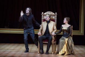 """Szenenbild aus""""Hamlet"""""""