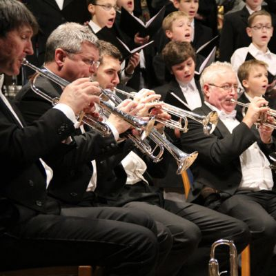 London Brass mit dem Knabenchor Hannover