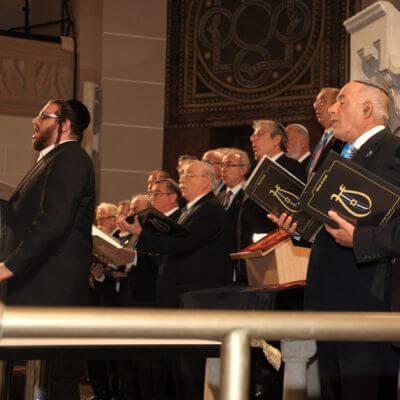 Chor beim Louis Lewandowski Festival
