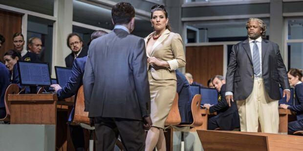 "Szene aus ""Medea"" am Theater Erfurt"