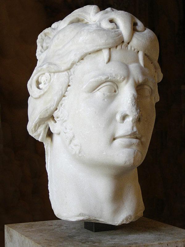 Mithridates VI. Marmorbüste aus dem 1. Jhd n. Chr.
